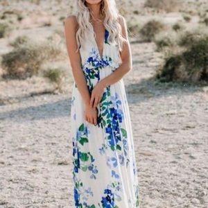 NWT Lovestitch Floral Maxi Dress